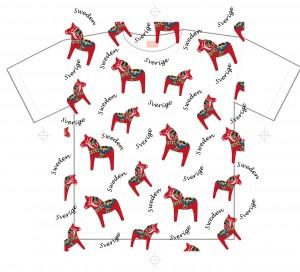dalahorse-tshirt