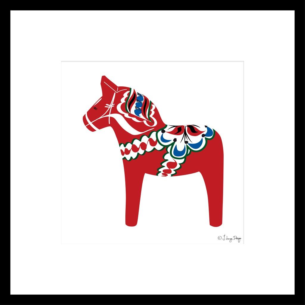 D-horse_framed